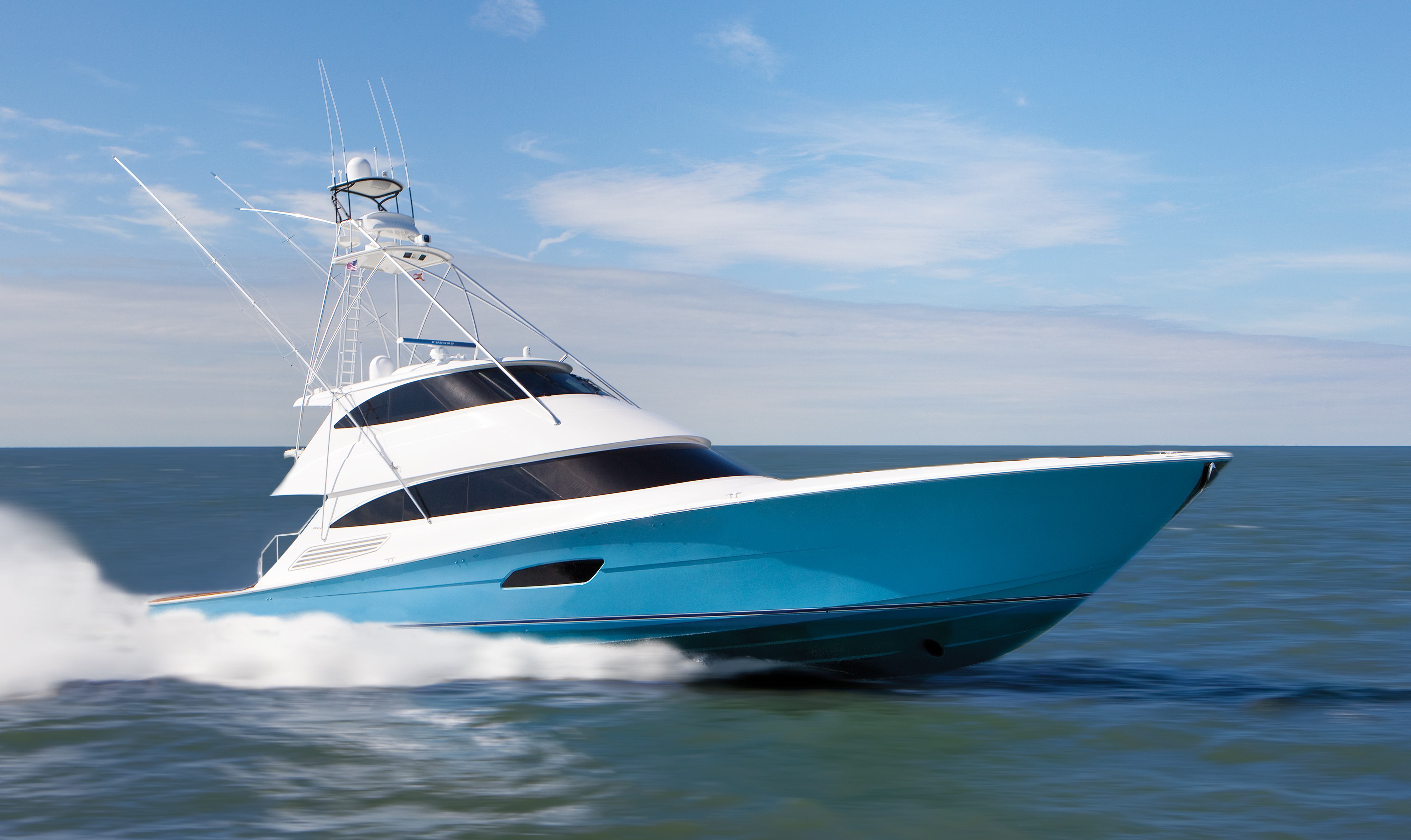 Inthebite sportfishing hullside paint trends for Sport fishing boats